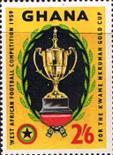 Ghana 1959 West African Football Competition SG 232 Fine Mint