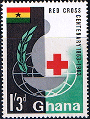 Stamps Ghana 1963 Red Cross Centenary Fine Mint