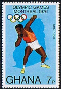 Ghana 1976 Montreal Olympic Games SG 773 Fine Mint