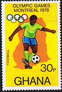 Ghana 1976 Montreal Olympic Games SG 774 Fine Mint (2)