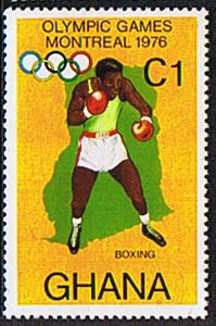 Ghana 1976 Montreal Olympic Games SG 776 Fine Mint