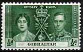 Gibraltar 1937 SG 118 King George VI Coronation Fine Mint