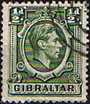 Gibraltar 1938 SG 121 King George VI Head Fine Used