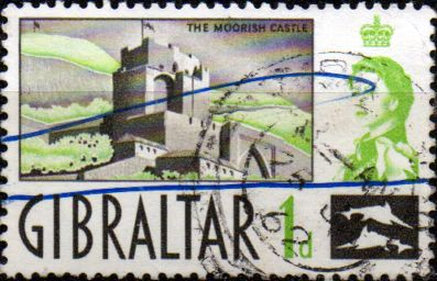 British Europe Stamps Stamp Gibraltar 1960 SG 161 Moorish Castle Fine Mint  SG 161 Scott 148