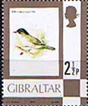Gibraltar 1977 Birds, Flowers, Fish and Butterflies SG 377 Fine Mint