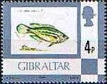 Gibraltar 1977 Birds, Flowers, Fish and Butterflies SG 379 Fine Mint
