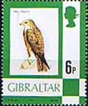 Gibraltar 1977 Birds, Flowers, Fish and Butterflies SG 381 Fine Mint