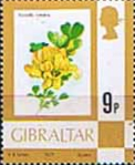 Gibraltar 1977 Birds, Flowers, Fish and Butterflies SG 382 Fine Mint
