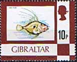 Gibraltar 1977 Birds, Flowers, Fish and Butterflies SG 383 Fine Mint