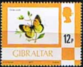 Gibraltar 1977 Birds, Flowers, Fish and Butterflies SG 384 Fine Mint