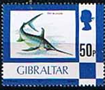 Gibraltar 1977 Birds, Flowers, Fish and Butterflies SG 387 Fine Mint