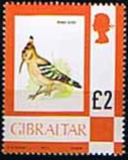 Gibraltar 1977 Birds, Flowers, Fish and Butterflies SG 389 Fine Mint