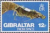 Gibraltar 1978 Gibraltar from Space Fine Mint