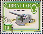 Gibraltar 1987 Guns SG 574 Fine Used