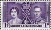Gilbert and Ellice Islands 1937 Coronation SG 40 Fine Mint