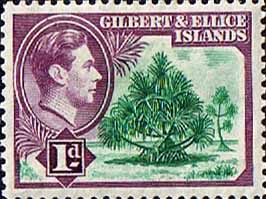 Postage Stamps of Gilbert and Ellice Islands