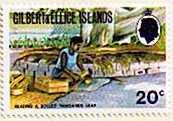 Gilbert and Ellice Islands 1971 Complete SG 182 Fine Mint
