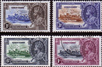 Gold Coast Stamps 1935 King George V Silver Jubilee Set Fine Used
