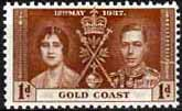 Gold Coast 1937 Coronation SG 117 Fine Mint