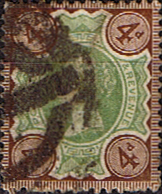 Post Stamps Stamp Great Britain 1887 Queen Victoria Jubilee Issue SG 205 Fine Used Scott 11