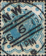 Stamps Stamp Great Britain 1900 Queen Victoria Jubilee Issue SG 213 Fine Used Scott 125