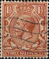 British Stamps Great Britain 1912 King George V Head SG 362 Fine Used Scott 161