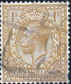 GB Stamps Great Britain 1924 King George V Head SG 427 Fine Used Scott 196