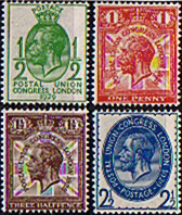 Postage Stamp Stamps Great Britain 1929 King George V Universal Postal Union Fine Used
