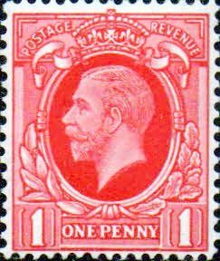 British Stamps Stamp Great Britain 1934 King George V Head SG 440 Fine Used Scott 211