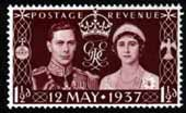 Great Britain 1937 King George VI Coronation Fine Mint