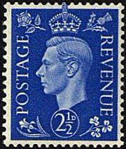 Great Britain 1937 King George VI Head SG 466 Fine Mint