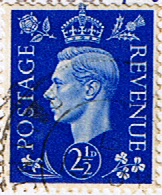 Great Britain 1937 King George VI Head SG 466 Fine Used
