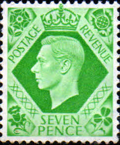 Great Britain 1937 King George VI Head SG 471 Fine Mint