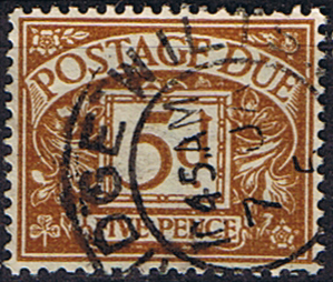 Stamps of Great Britain 1937 Post Due SG D 32 Fine Used Scott J 23