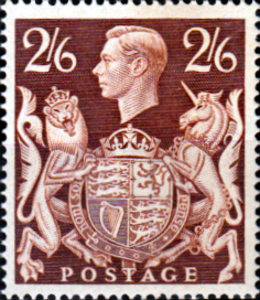 Great Britain 1939 King George VI Head High Values SG 476 Fine Mint