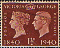 Great Britain 1940 Centenary of First Adhesive Postage Stamps SG 481 Fine Used