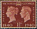 Great Britain 1940 Centenary of First Adhesive Postage Stamps SG 481 Mint