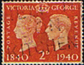 Great Britain 1940 Centenary of First Adhesive Postage Stamps SG 482 Fine Used