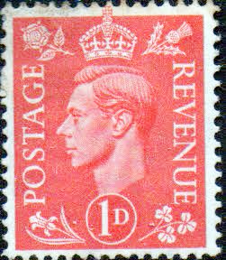 Great Britain 1941 King George VI Head SG 486 Fine Mint