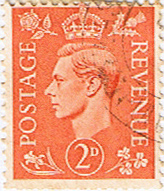 Great Britain 1941 King George VI Head SG 488 Fine Used
