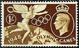 GB Stamps Great Britain 1948 Olympic Games Set Fine Mint