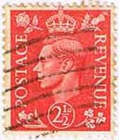 Great Britain 1950 King George VI Head SG 507 Fine Used