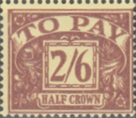 Great Britain 1959 Post Due SG D 65 Fine Mint