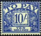 Great Britain 1959 Post Due SG D 67 Fine Mint