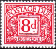 Great Britain 1969 Postage Due SG D76 Fine Mint