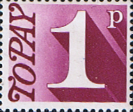 Great Britain 1970 Post Due SG D 78 Fine Mint