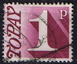 Stamps of Great Britain 1970 Post Due SG D 78 Fine Used Scott J 80
