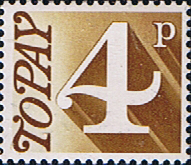 Great Britain 1970 Post Due SG D 81 Fine Mint