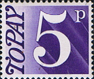Great Britain 1970 Post Due SG D 82 Fine Mint