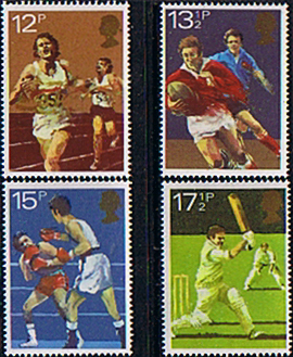 Stamps of Great Britain 1980 Sport Centenaries Set Fine Mint GB